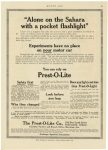 1913 4 17 PREST-O-LITE You can rely on The Prest-O-Lite Prest-O-Lite Co. Indianapolis, Indiana MOTOR AGE April 17, 1913 page 61