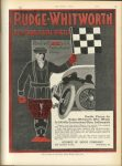 1913 6 5 RUDGE-WHITWORTH Detachable Wire Wheels FITTED WITH HOUK – QUICK DETACHABLE – RIM, A Gruelling Race Has Proved a Triumph MOTOR AGE page 57