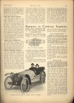 1914 1 8 CYCLE CAR Cyclecar Development…Cyclecar Engineer Points Out Trends in Design MOTOR AGE January 8, 1913 Antique Automobile Club of America Library page 61
