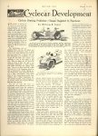1914 2 19 CYCLE CAR Cyclecar Development…Cyclecar Bettering Predictions – Changes Suggested by Experience By William B Stout MOTOR AGE February 19, 1914 Antique Automobile Club of America Library page 28
