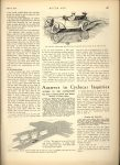 1914 4 9 CYCLE CAR Cyclecar Development…The Handiness of the Cyclecar By William B Stout MOTOR AGE April 9, 1914 Antique Automobile Club of America Library page 39