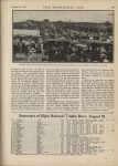 1914 12 9 SUMMARY OF THE 1914 ROAD AND SPEEDWAY RACES Summary of Elgin National Trophy Races, August 22 THE HORSELESS AGE U of MN Library page 307