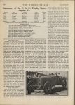 1914 12 9 SUMMARY OF THE 1914 ROAD AND SPEEDWAY RACES Summary of the C. A. C. Trophy Race August 21 THE HORSELESS AGE U of MN Library page 308