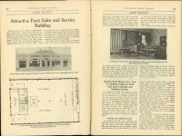 1919 12 Attractive Ford Sales and Service Building THE AUTOMOBILE TRADE JOURNAL pages 408 & 409