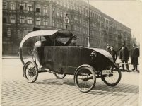 1922 5 19 CYCLE CAR From WIDE WORLD PHOTOS May 19, 1922 8″×6″ Front