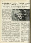 """1923 6 21 Performance of """"Flivver"""" Airplane Indicates Possibility of Cheap Commercial Flying U of MN Library MOTOR AGE page 18"""
