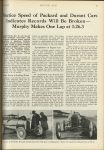 1923 5 24 INDY 500 Practice Speed of Packard and Durant Cars Indicates Records Will Be Broken– Murphy Makes One Lap at 1:26.3 MOTOR AGE U of MN Library 8″x11.25″ page 13