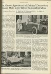 1923 5 31 INDY 500 Last Minute Appearance of Delayed Duesenberg Racers Main Topic Before Indianapolis Race MOTOR AGE U of MN Library 8″x11.25″ page 15