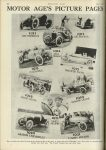 1923 6 7 INDY 500 MOTOR AGE'S PICTURE PAGES MOTOR AGE U of MN Library 8″x11.25″ page 26