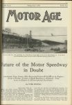 1923 6 7 INDY 500 Future of Motor Speedway in Doubt By CLYDE JENNINGS MOTOR AGE U of MN Library 8″x11.25″ page 9