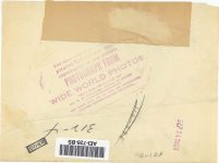 1924 9 24 3-WHEELER PHOTOGRAPH FROM WIDE WORLD PRESS September 24, 1924 8″×6″ Back