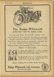 1925 3 11 The RUDGE-WHITWORTH is the best value for the money to-day. MOTOR CYCLING page 5