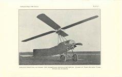 1929 11 20 Franklin Institute THE AUTOGIRO: ITS CHARACTERISTICS AND ACCOMPLISHMENTS By Harold F. Picarin President, Pitcairn-Cierva Autogiro Company of America PLATE 1