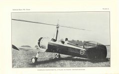 1929 11 20 Franklin Institute THE AUTOGIRO: ITS CHARACTERISTICS AND ACCOMPLISHMENTS By Harold F. Picarin President, Pitcairn-Cierva Autogiro Company of America Smithsonian Report, 1930.–Pitcairn AMERICAN EXPERIMENTAL 2-PLACE AUTOGIRO (WARNER SCARAB) PLATE 6