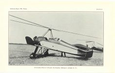 1929 11 20 Franklin Institute THE AUTOGIRO: ITS CHARACTERISTICS AND ACCOMPLISHMENTS By Harold F. Picarin President, Pitcairn-Cierva Autogiro Company of America Smithsonian Report, 1930.–Pitcairn PITCAIRN PCA-2 3-PLACE AUTOGIRO (WRIGHT J/61225H.P.) PLATE 8