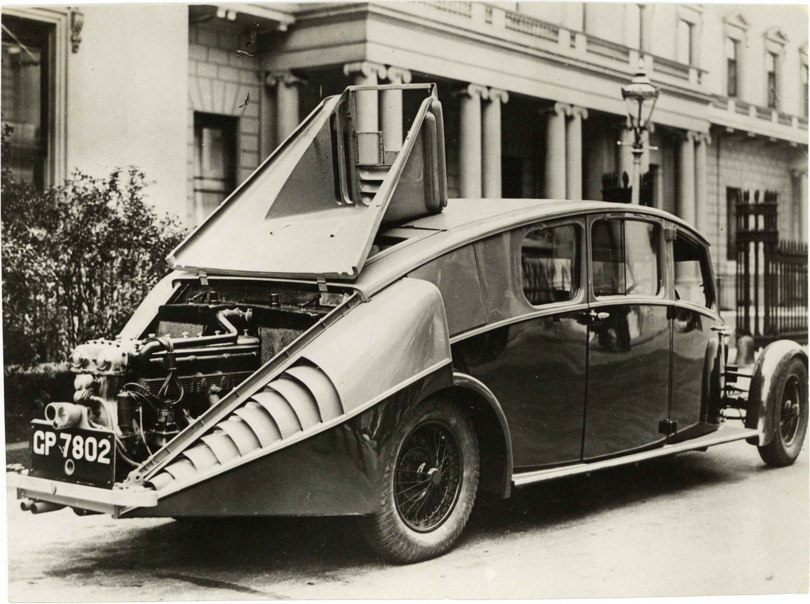 1931 ODD THE PRINCE OF WALES USES A TEMPORARY CAR UNTIL HIS OWN IS ...