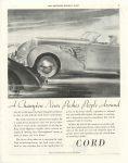 1937 Cord AUBURN AUTOMOBILE COMPANY, AUBURN, INDIANA 1 16 p 81