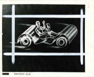 1944 3 13 WATSON 2 FUTURE AUTOMOBILE DESIGN 10″×8″ Front