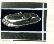 1944 3 13 WATSON 3 DESIGN OF FUTURE AUTOMOBILE 10″×8″ Front
