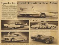 1954 3 28 Concept cars The Youngstown Vindicator 15″x11″ top