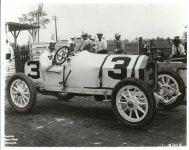 1914 Indy 500 STUTZ Car 3 Barney Oldfield driver Coburn Photo Indianapolis 3885 riepaLidziga 1