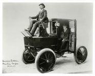 1896 Morris Salem Electric Coupe photograph 10″x8″