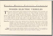 1908 WOODS Woods Motor Vehicle Company Highest-Grade Electric Carriages page 3