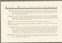 1908 WOODS Woods Motor Vehicle Company Highest-Grade Electric Carriages page 4