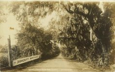 1910 ca Savannah GA race track RPPC front