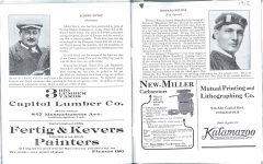 1912 Indy 500 program Wilcox