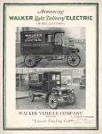 1920 ca WALKER Elec Truck 8x11 F