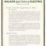1920 ca WALKER Elec Truck 8x11 in L