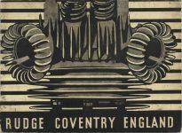 1934 RUDGE COVENTRY ENGLAND original 9x7 FC
