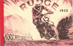 1935 RUDGE bro 10x6 repro FC