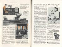 1938 2 THE FLYING WING of the FUTURE By Hall J. Hibbard, Chief Engineer, Lockheed Aircraft Corporation POPULAR MECHANICS pages 234 & 235