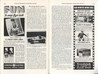 1938 2 The ROUGH ROAD to GLORY By Maj. George H. Robertson POPULAR MECHANICS pages 140A & 141A