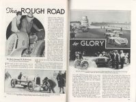 1938 2 The ROUGH ROAD to GLORY By Maj. George H. Robertson POPULAR MECHANICS pages 178 & 179