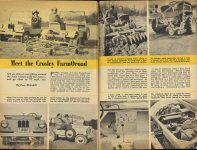 1950 8 CROSLEY Meet the Crosley FarmOroad By Tom McCahill MECHANIX ILLUSTRATED August 1950 pages 82 & 83