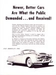 1952 PACKARD Never Better Cars Are What the Public Demanded…And Received Pan American 8″×10″