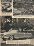 1952 ca. PACKARD WHERE PACKARD QUALITY IS CONFIRMED! Test Cars Run Up 1,078,125 Chassis-Jolting Miles A Year A Packard's Multi-Million-Dollar Proving Grounds! Quality 2