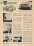 1953 BARRIS One step beyond Detroit the BARRIS TOUCH By Robert Lee Behme Motor Trend page 24