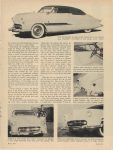 1953 BARRIS One step beyond Detroit the BARRIS TOUCH By Robert Lee Behme Motor Trend page 25