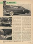 1953 BARRIS One step beyond Detroit the BARRIS TOUCH By Robert Lee Behme Motor Trend page 26