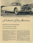 1953 PACKARD Presenting…the Packard Pan American, AUTO AGE'S cover car may go into Limited production in 1953. I'll be expensive, but clean styling and luxury features should attract attention page 11