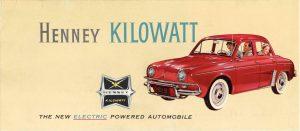 1959 HENNEY Kilowatt thumbnail