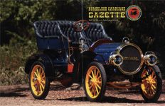 2012 7-8 HORSELESS CARRIAGE GAZETTE July-August 2012 8.5″x11″ Front & Back covers