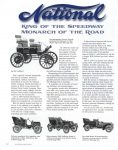 2012 7-8 National King of the Speedway Monarch of the Road by Bill Cuthbert THE HORSELESS CARRIAGE GAZETTE July-August 2012 page 12