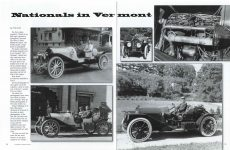 2012 7-8 Nationals in Vermont THE HORSELESS CARRIAGE GAZETTE July-August 2012 pages 20 & 21