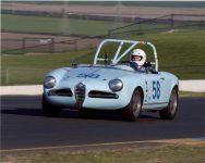 2016 4 CDT 1957 ALFA ROMEO Giulietta Spider Sonoma Raceway April