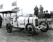 1915 Indy 500 STUTZ Car 1 Howdy Wilcox Official Photo No. 50 01 COBURN IND'P'L'S 9bfab3572dc083049ee45ce884383786